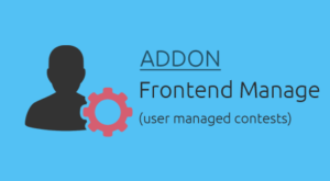 frontend user managed competitions