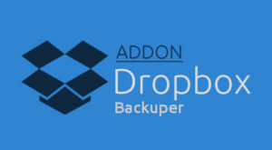 dropbox backuper addon logo